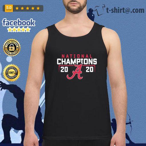 Alabama Crimson Tide 2020 National Champions College Football Playoff s tank-top
