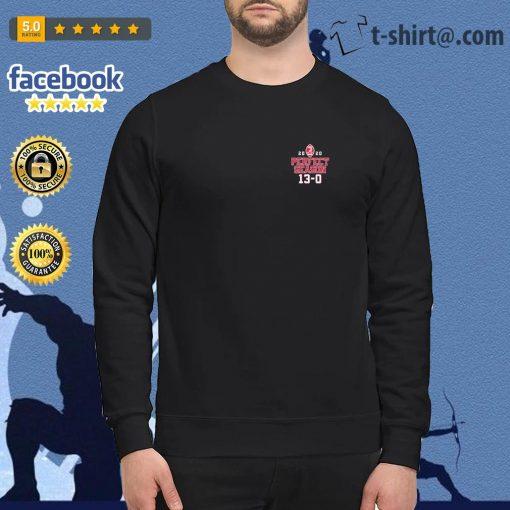 Alabama Crimson Tide 2020 Perfect Season 13 0 Dynasty Built by Bama National Champions s sweater