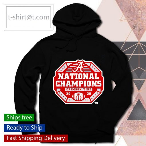 Alabama Crimson Tide College Football Playoff 2020 National Champions s hoodie