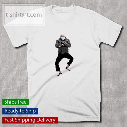 Bernie Sanders doing the Gangnam Style dance shirt