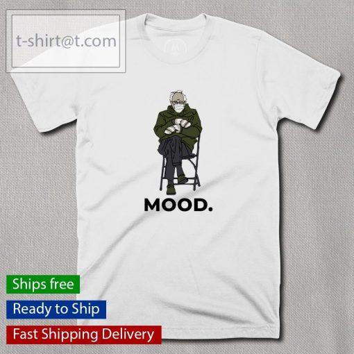 Bernie sanders mittens mood t-shirt