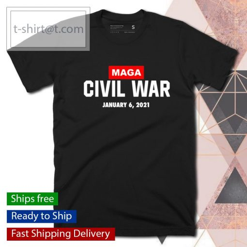 MAGA Civil War January 6 2021 shirt