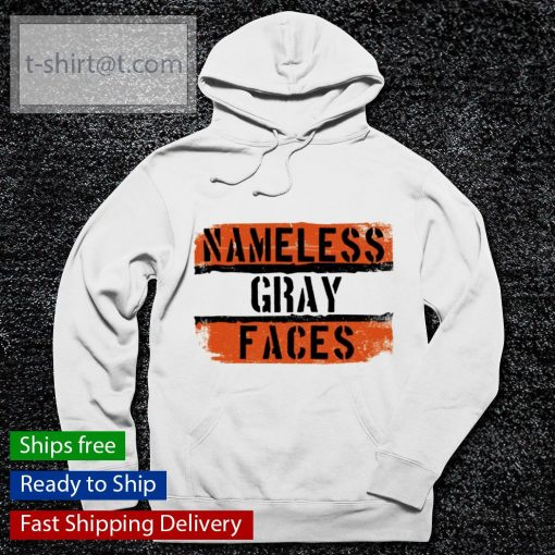 Namless gray faces Cleveland Browns s hoodie