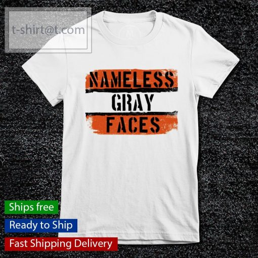 Namless gray faces Cleveland Browns s ladies-tee