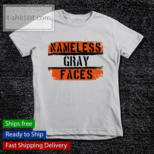 Namless gray faces Cleveland Browns s youth-tee
