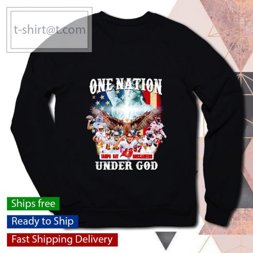 One nation Tampa Bay Buccaneers under God s sweater