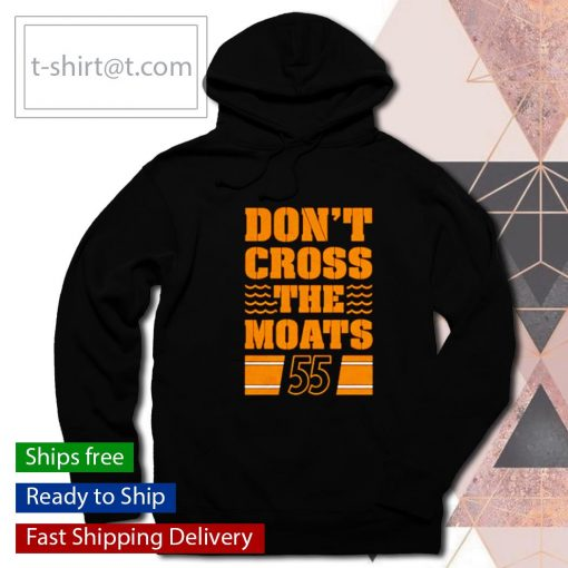 Pittsburgh Penguins don't cross the moats s hoodie