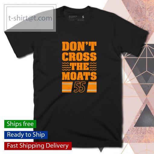 Pittsburgh Penguins don't cross the moats shirt