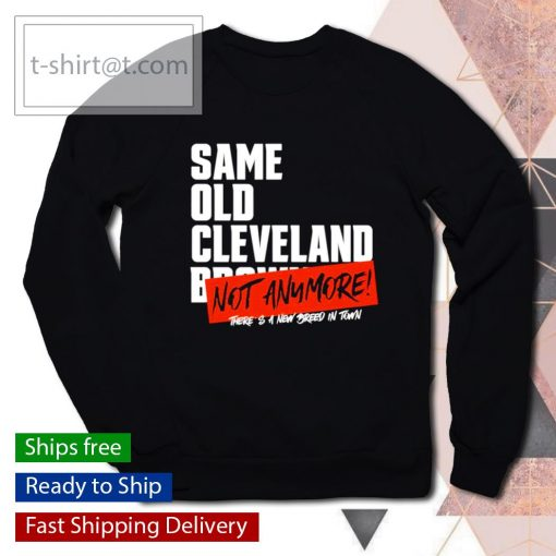 Sam old Cleveland Browns not anymore there's a new breed in town s sweater