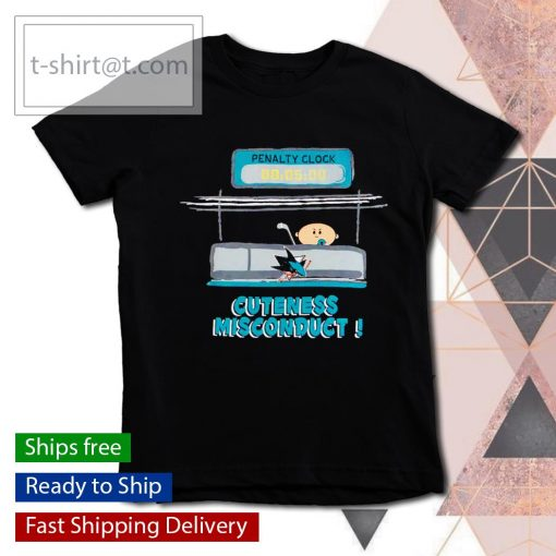 San Jose Sharks penalty clock cuteness misconduct s youth-tee