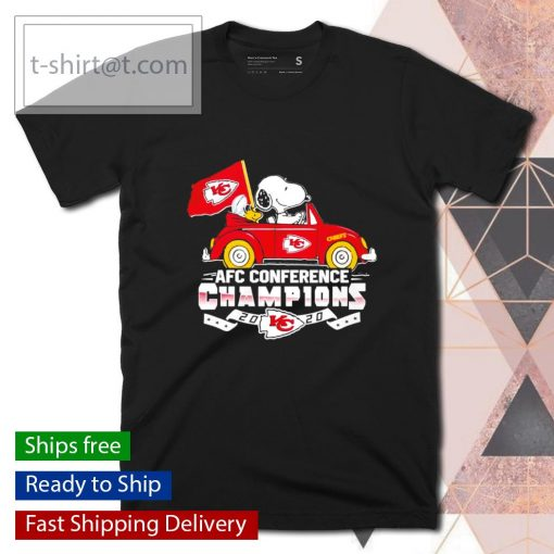 Snoopy Kansas City Chiefs AFC Conference Champions 2020 shirt