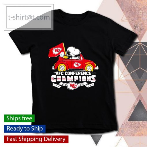 Snoopy Kansas City Chiefs AFC Conference Champions 2020 s youth-tee