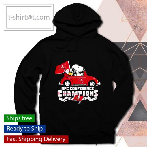 Snoopy Tampa Bay Buccaneers NFC Conference Champions 2020 s hoodie