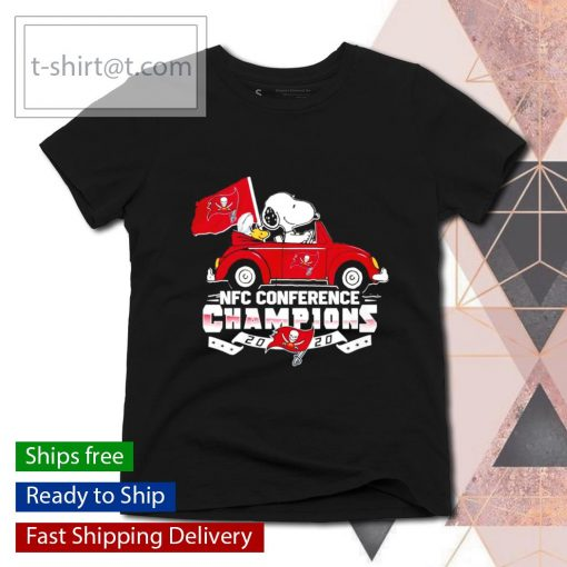 Snoopy Tampa Bay Buccaneers NFC Conference Champions 2020 s ladies-tee