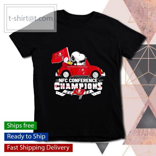 Snoopy Tampa Bay Buccaneers NFC Conference Champions 2020 s youth-tee