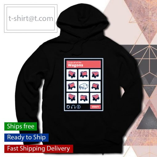 The Mafia Test Circle all of the Wagons s hoodie