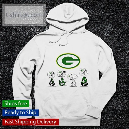 The Peanuts Green Bay Packers s hoodie