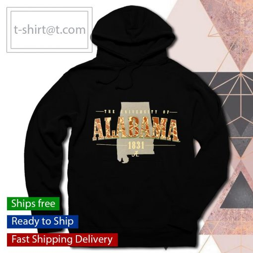 The University Of Alabama 1831 Script A Old School Camo s hoodie