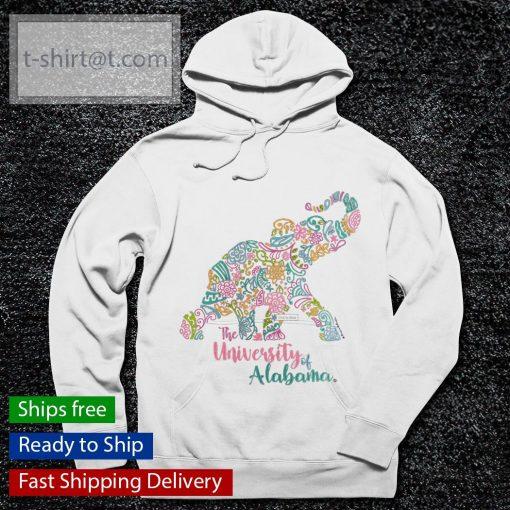 The University Of Alabama Blooming Elephant s hoodie