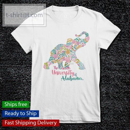 The University Of Alabama Blooming Elephant s ladies-tee