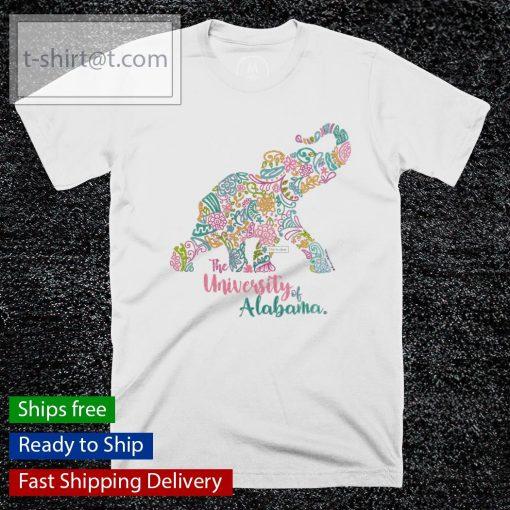 The University Of Alabama Blooming Elephant shirt