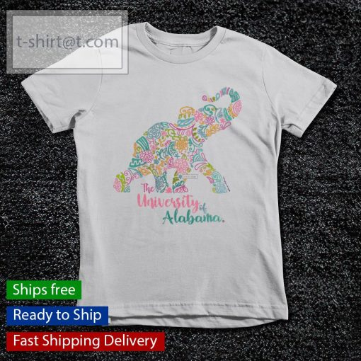 The University Of Alabama Blooming Elephant s youth-tee