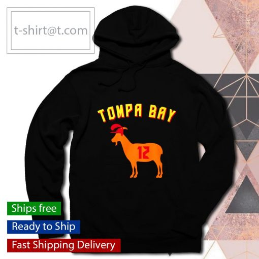 Tompa Bay The Goat 12 s hoodie