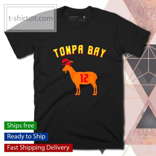 Tompa Bay The Goat 12 shirt