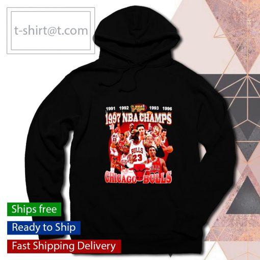 1997 NBA Champions Chicago Bulls s hoodie