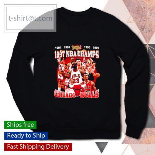 1997 NBA Champions Chicago Bulls s sweater