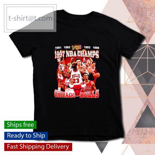 1997 NBA Champions Chicago Bulls s youth-tee