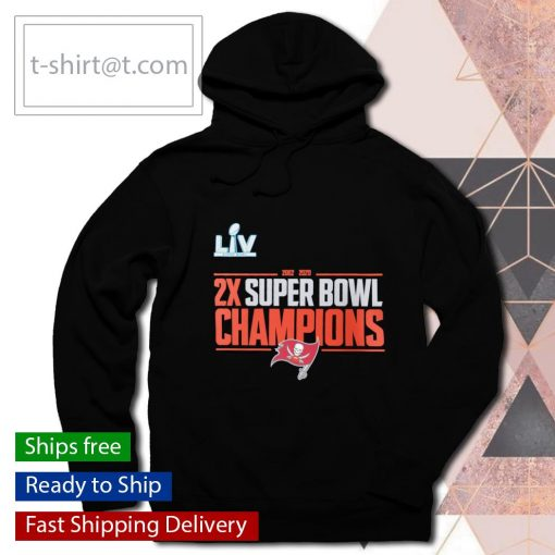 2-Time Super Bowl Champions Field Goal s hoodie
