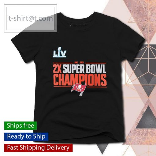 2-Time Super Bowl Champions Field Goal s ladies-tee