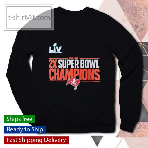 2-Time Super Bowl Champions Field Goal s sweater