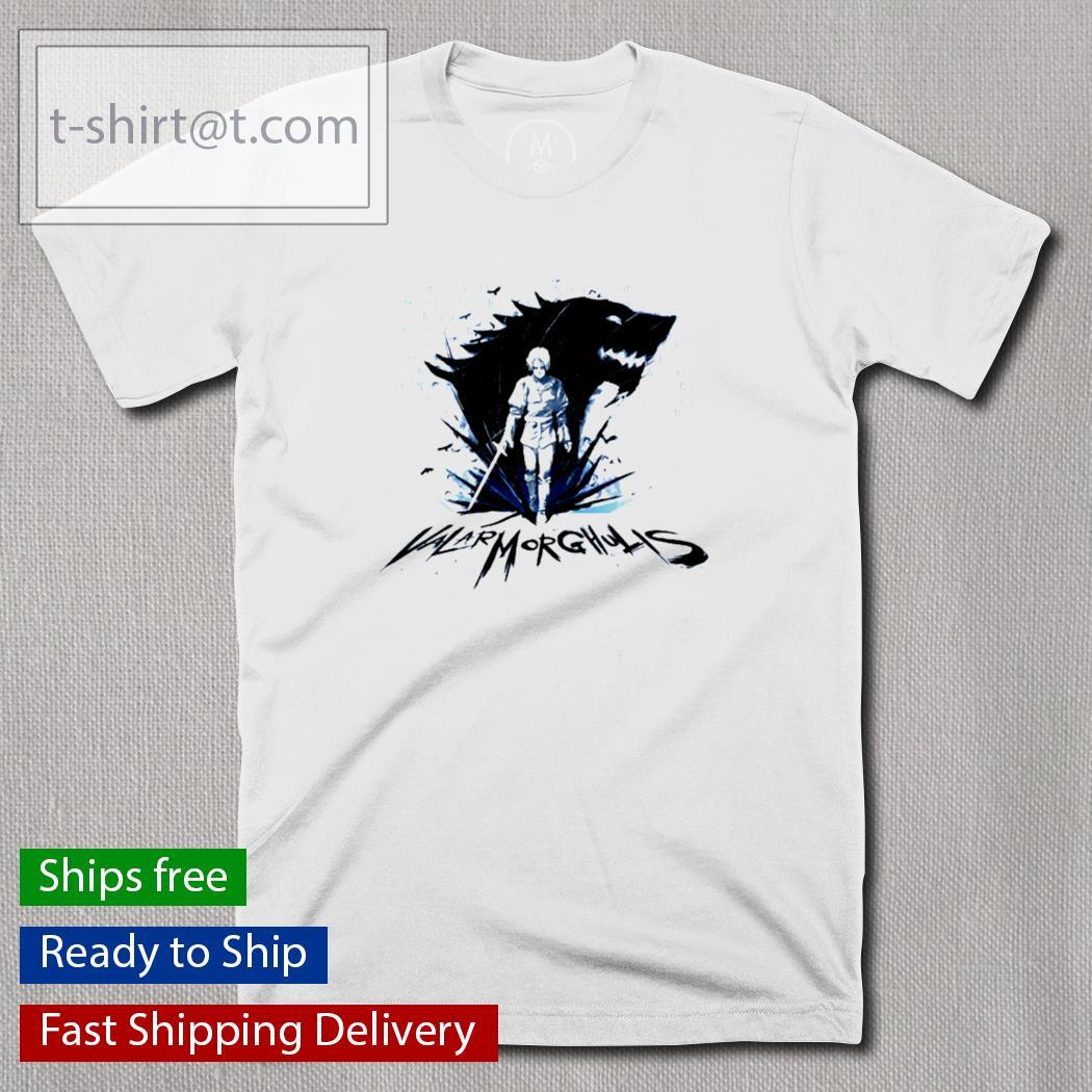 Arya Stark Valar Morghulis t-shirt