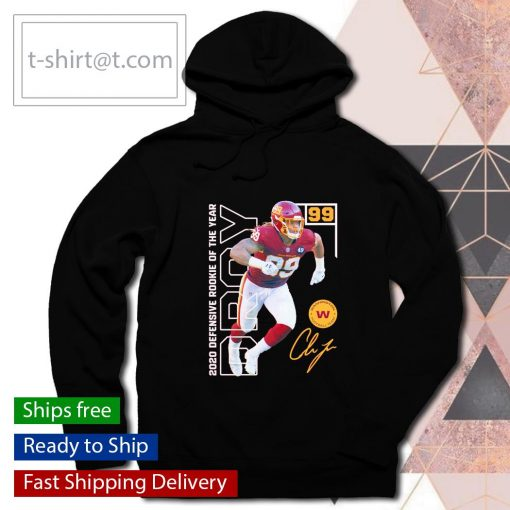 Chase Young 2020 NFL Defensive Rookie of the Year s hoodie