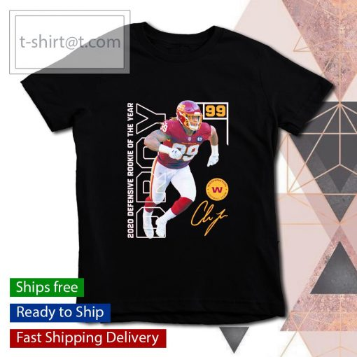 Chase Young 2020 NFL Defensive Rookie of the Year s youth-tee