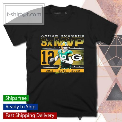 Green Bay Packers Aaron Rodgers 2020 NFL MVP shirt