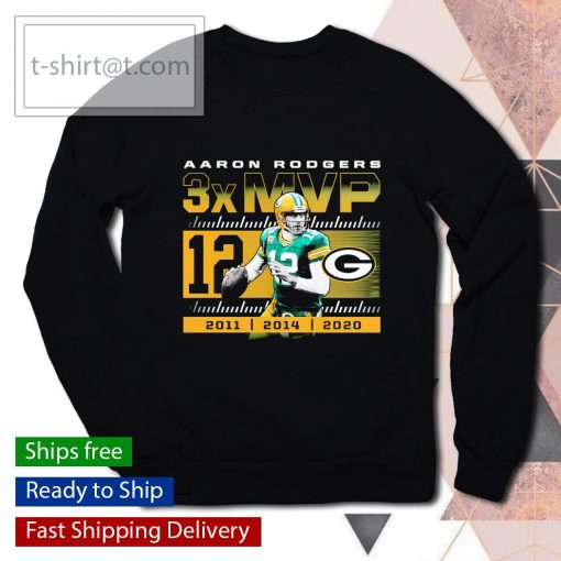 Green Bay Packers Aaron Rodgers 2020 NFL MVP s sweater