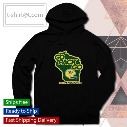 Green Bay Packers Regional Club Go Pack Go s hoodie