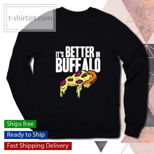 It's better in Buffalo s sweater