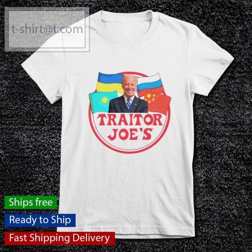 Joe Biden traitor Joe's s ladies-tee