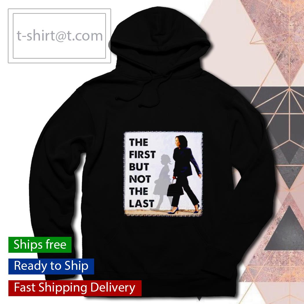Kamala Harris Ruby Bridges Madam the first but not the last s hoodie