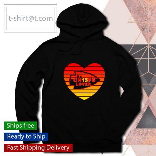 Kansas City Chiefs Lover Valentine Day s hoodie