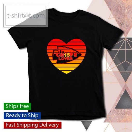 Kansas City Chiefs Lover Valentine Day s youth-tee