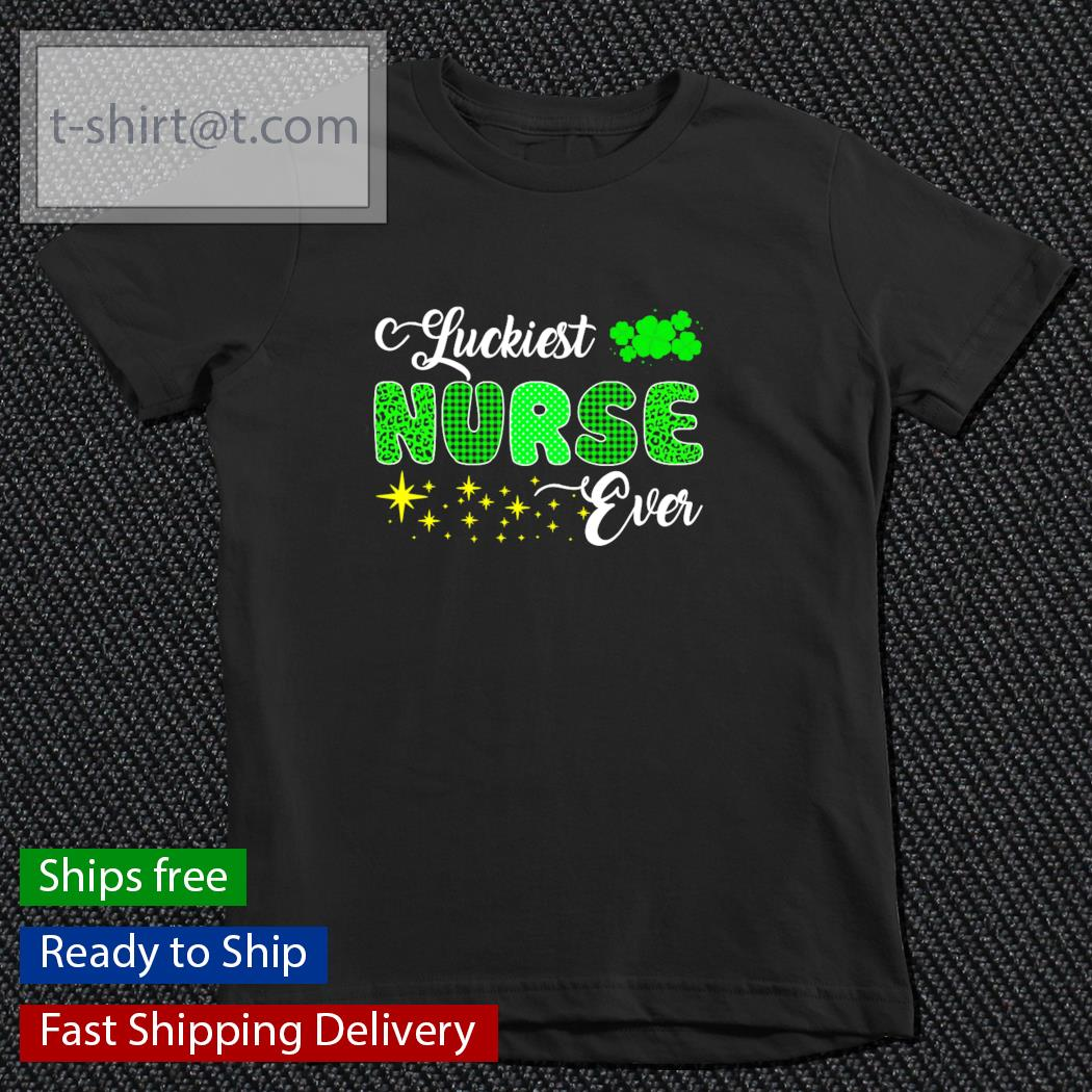 Luckiest Nurse Ever St.Patrick's Day s youth-tee