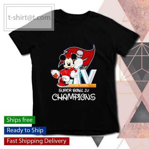 Mickey mouse Tampa Bay Buccaneers Super Bowl LV Champions s youth-tee