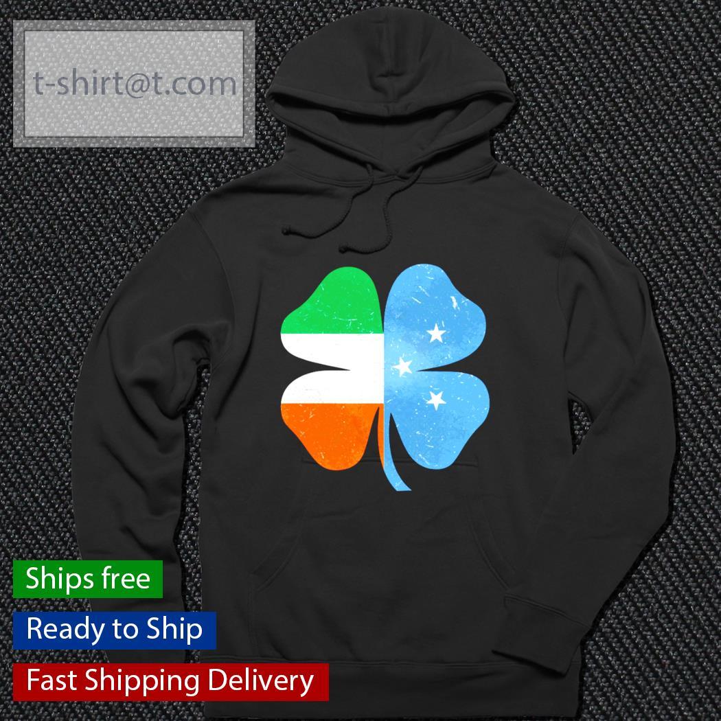 Micronesian Irish Shamrock Ireland St.Patrick's Day s hoodie