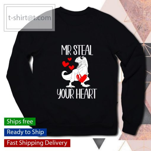 Mr Steal Your Heart Valentines Day s sweater