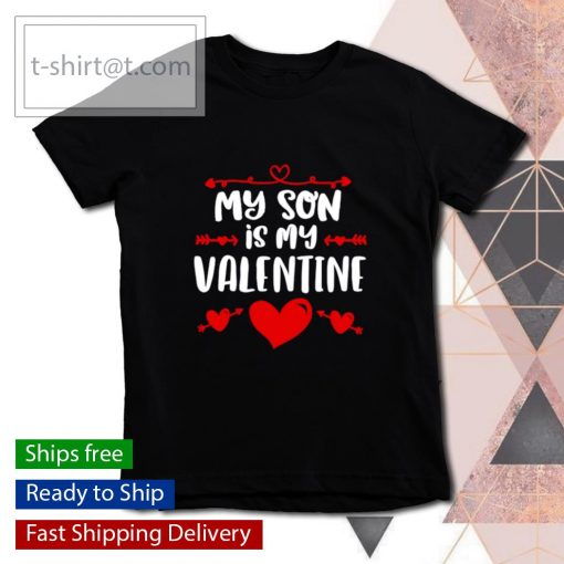 My Son Is My Valentine s youth-tee